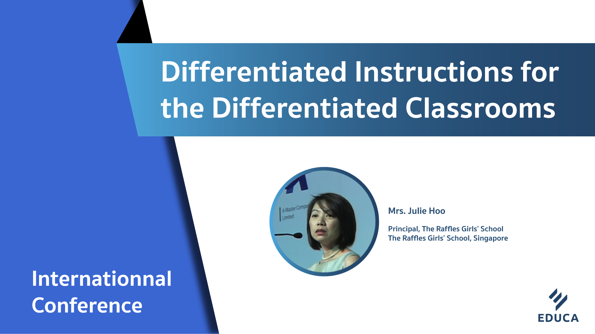 Differentiated Instructions for the Differentiated Classrooms