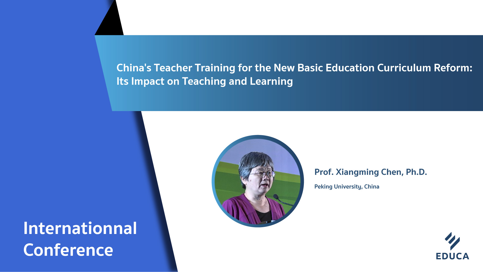China's Teacher Training for the New Basic Education Curriculum Reform: Its Impact on Teaching and Learning