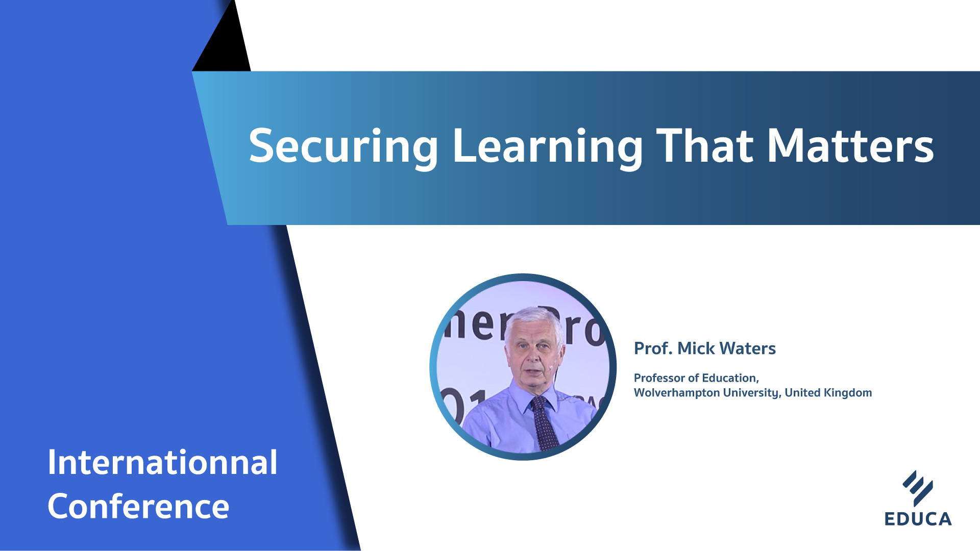Securing Learning That Matters