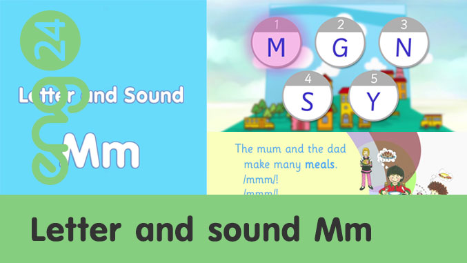 Letter and sound: Mm