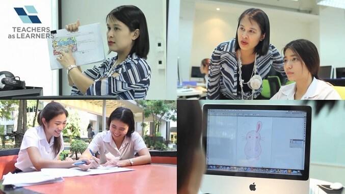 สร้างสรรค์งาน ผสานบทเรียน : Interactive Power Point สำหรับครู