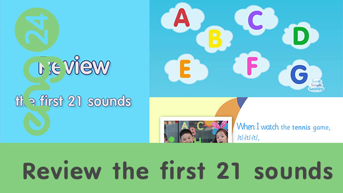 Review the first 21 sounds