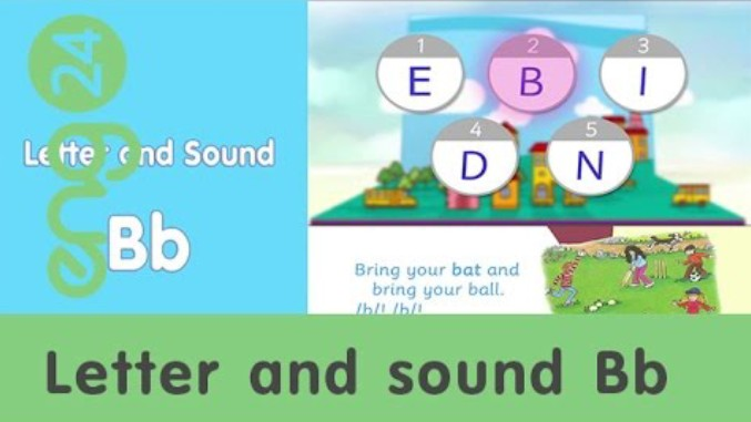 Letter and sound: Bb