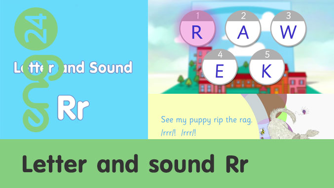 Letter and sound: Rr