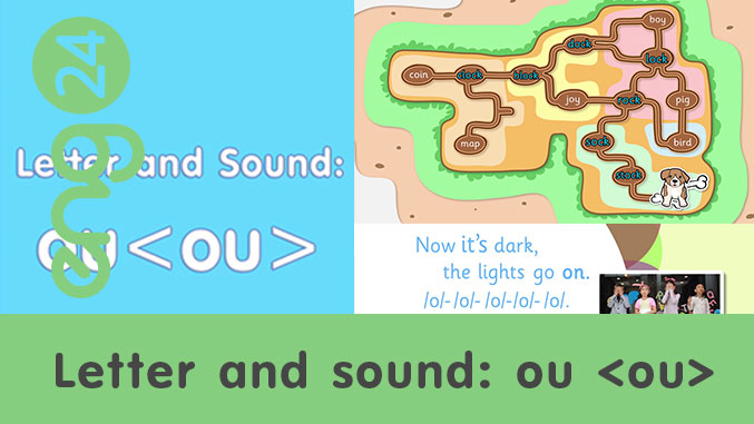 Letter and sound: ou <ou>