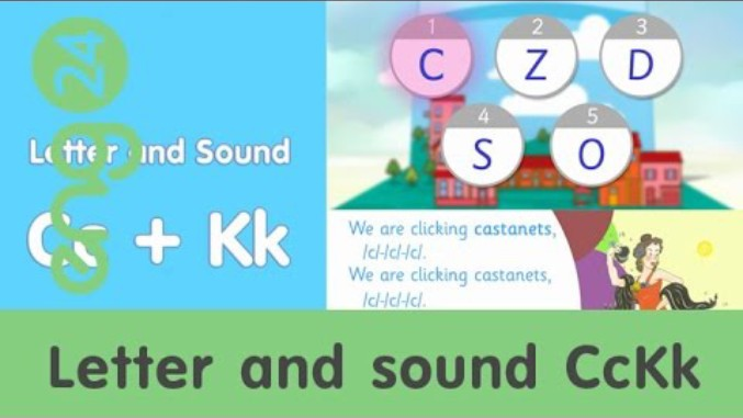 Letter and sound: C/K