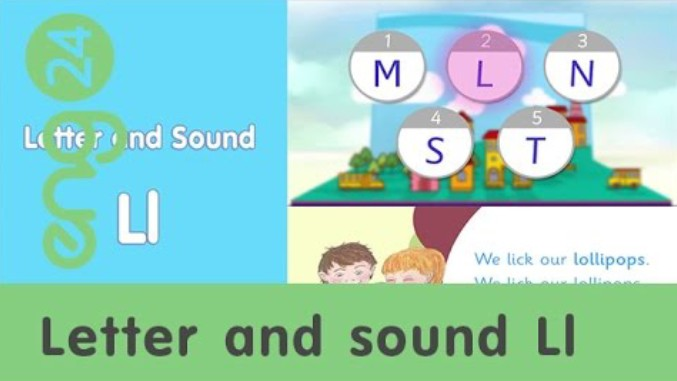 Letter and sound: Ll