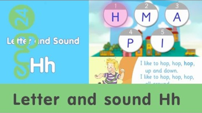 Letter and sound: Hh