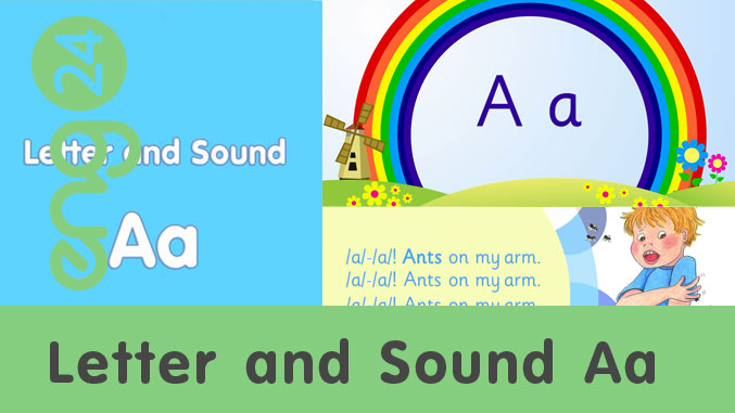 Letter and sound: Aa