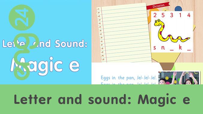 Letter and sound: Magic e