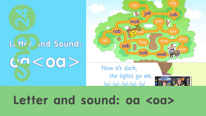 Letter and sound: oa <oa>