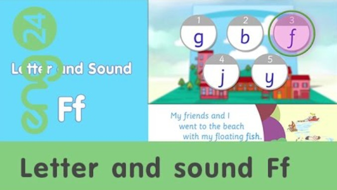 Letter and sound: Ff