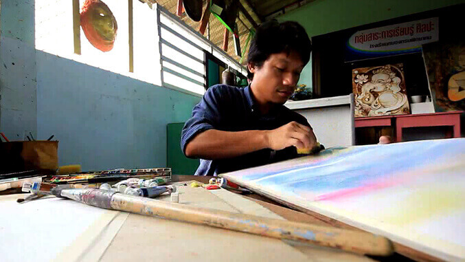 4 จุดเน้น : พัฒนาคุณภาพการเรียนศิลปะ โดยใช้ 4 จุดเน้น