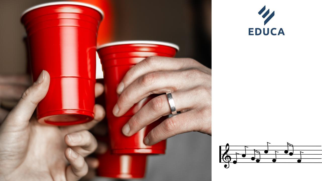 กิจกรรมดนตรี CupSong เพื่อสร้างเสริมจิตสำนึกในศตวรรษที่ 21